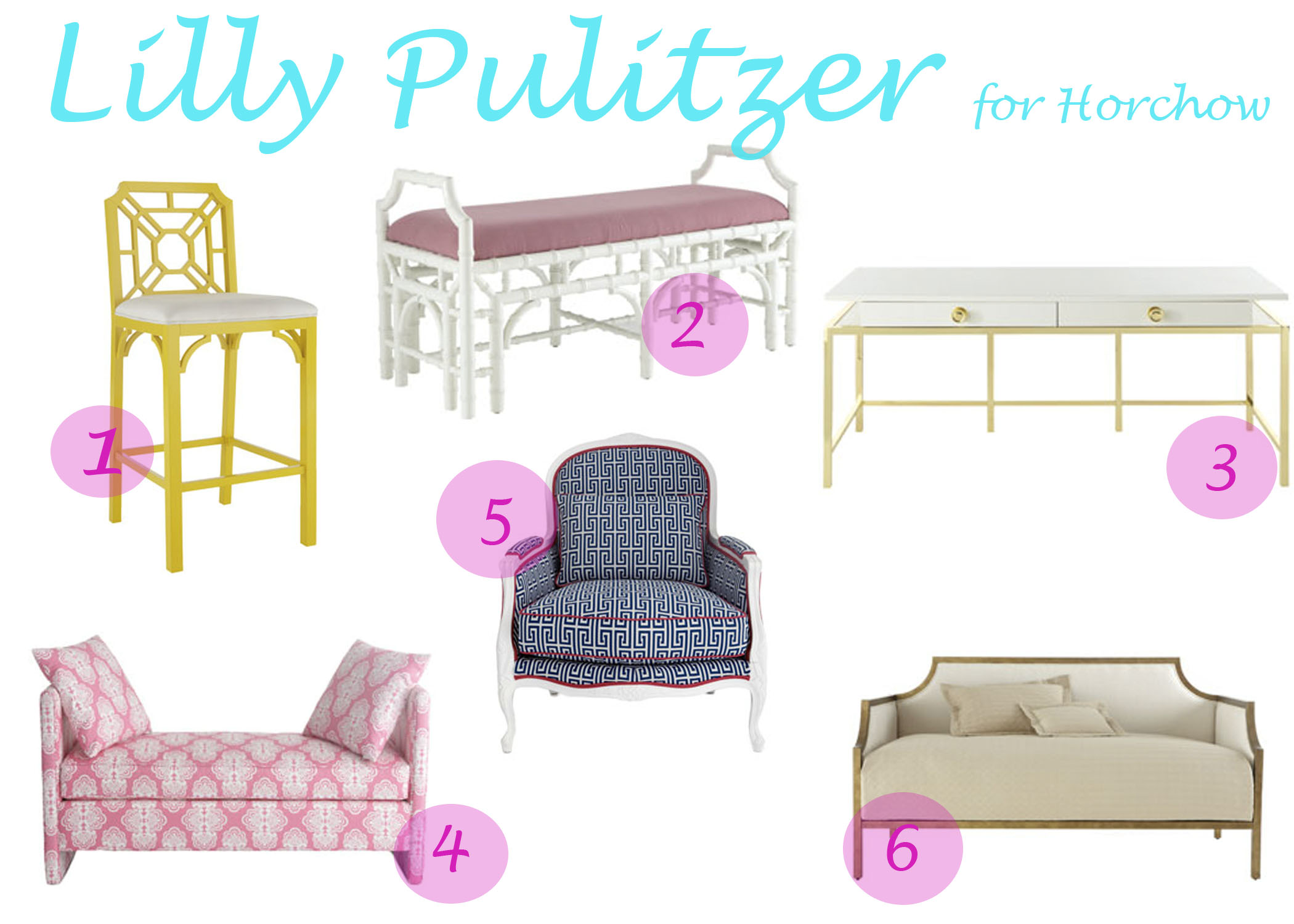 1. Lilly Pulitzer for Lee Jofa   capriciously inspired