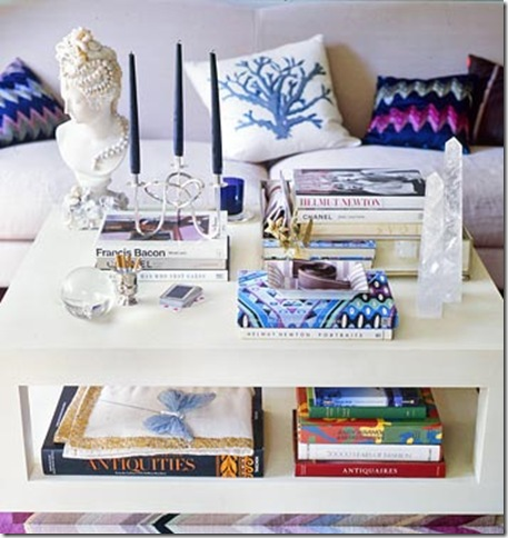 Creating That Perfect Vignette The Coffee Table