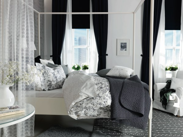 Letto Baldacchino Edland Ikea.Ikea Four Poster Bed Capriciously Inspired